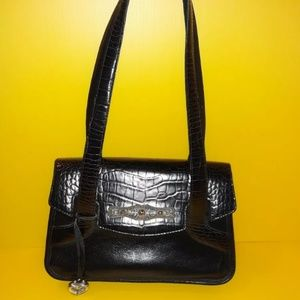 Brighton Bags - Brighton Embossed Leather Satchel